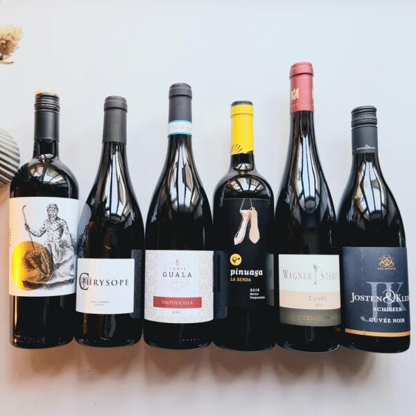 Weinbox: Rotweincuvées No. 1 - besondere Alltagsweine